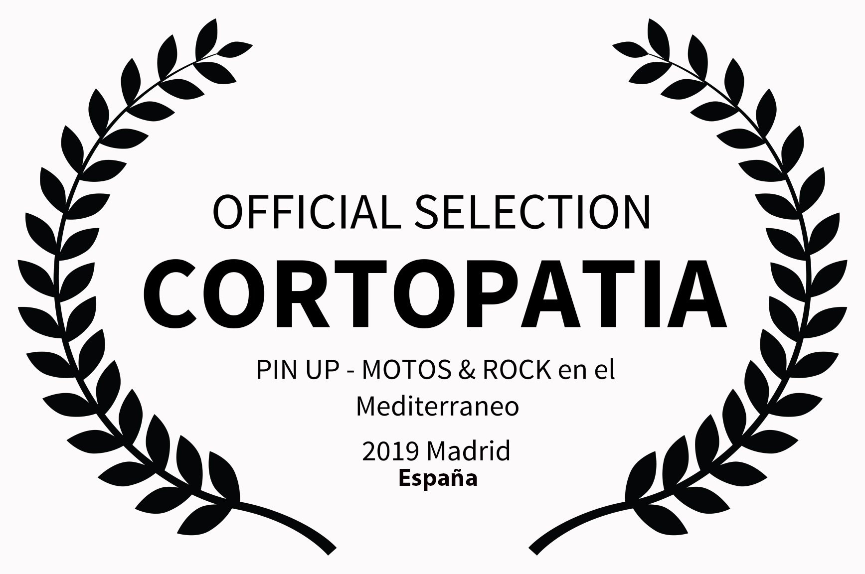 OFFICIAL SELECTION - CORTOPATIA -  PIN U