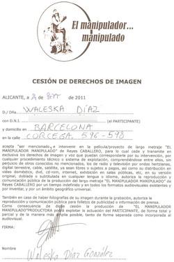 CESIÓN DE DERECHOS DE IMAGEN