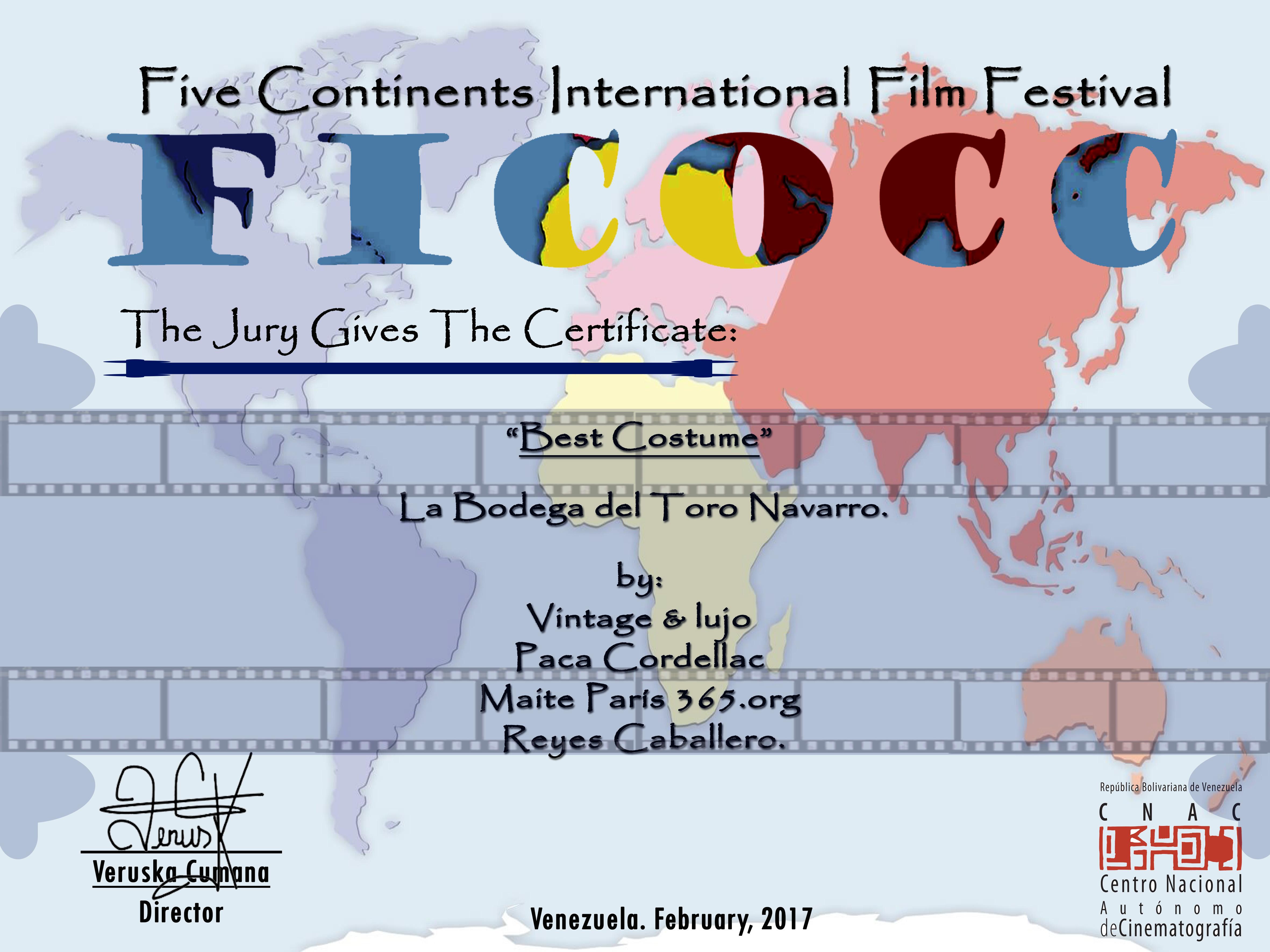 37 certificado  ficooc reyes cabayero ve