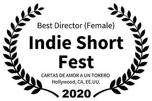 Best Director Female - Indie Short Fest