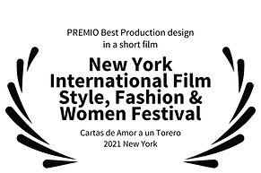 PREMIO Best Production design in a short