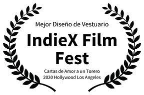 Mejor Diseo de Vestuario - IndieX Film F