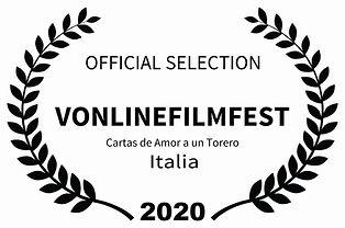OFFICIAL SELECTION - VONLINEFILMFEST - C