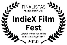 FINALISTAS  - IndieX Film Fest - Cartas