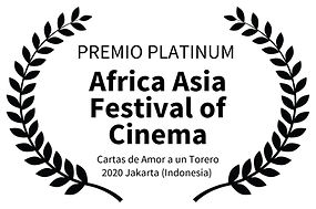 PREMIO PLATINUM  - Africa Asia Festival