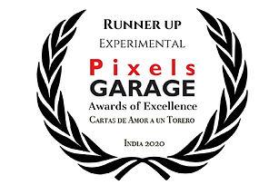 PREMIO  Experimental - PixelsGARAGE Awar