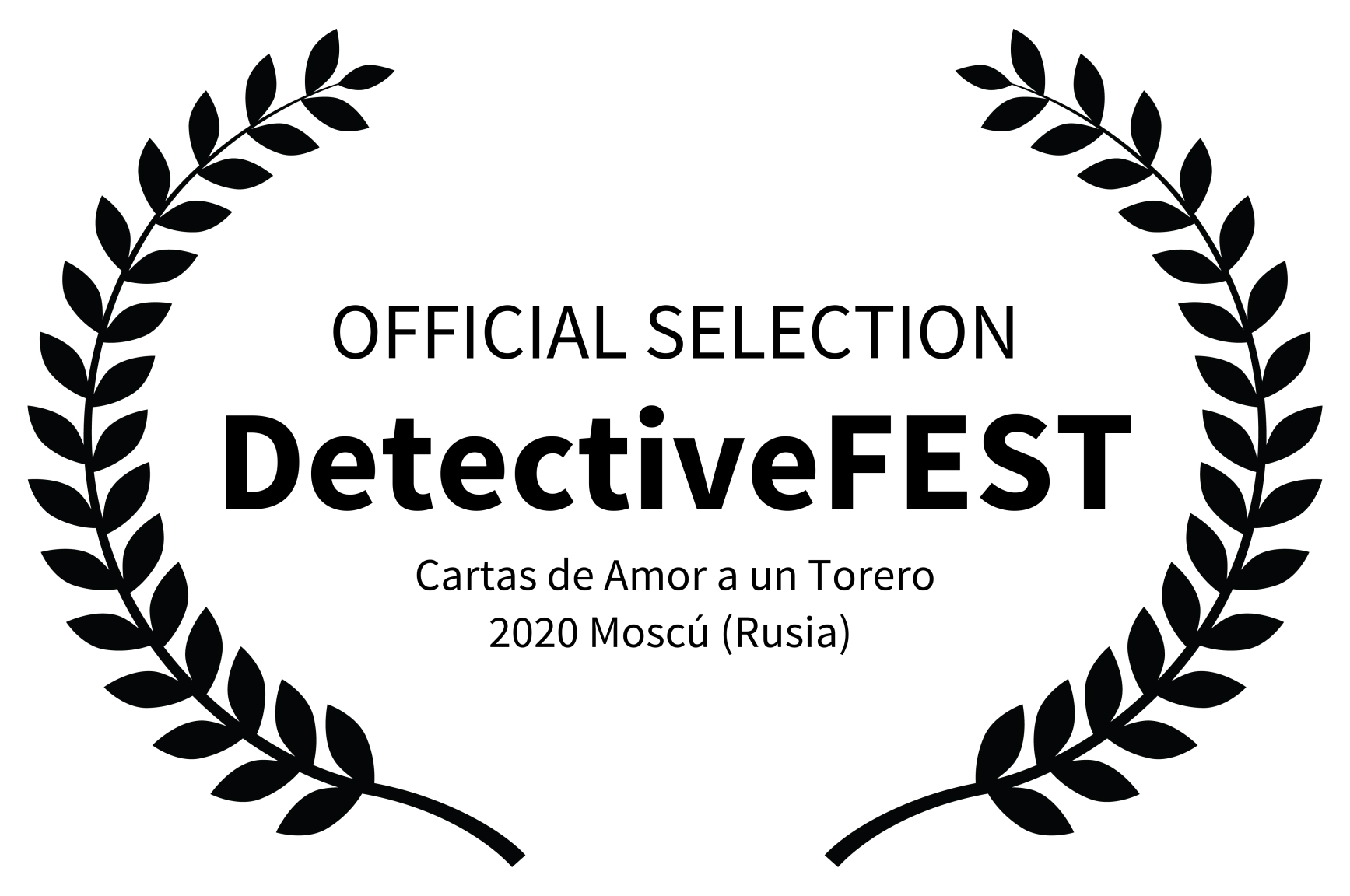 OFFICIAL SELECTION - DetectiveFEST  - Ca
