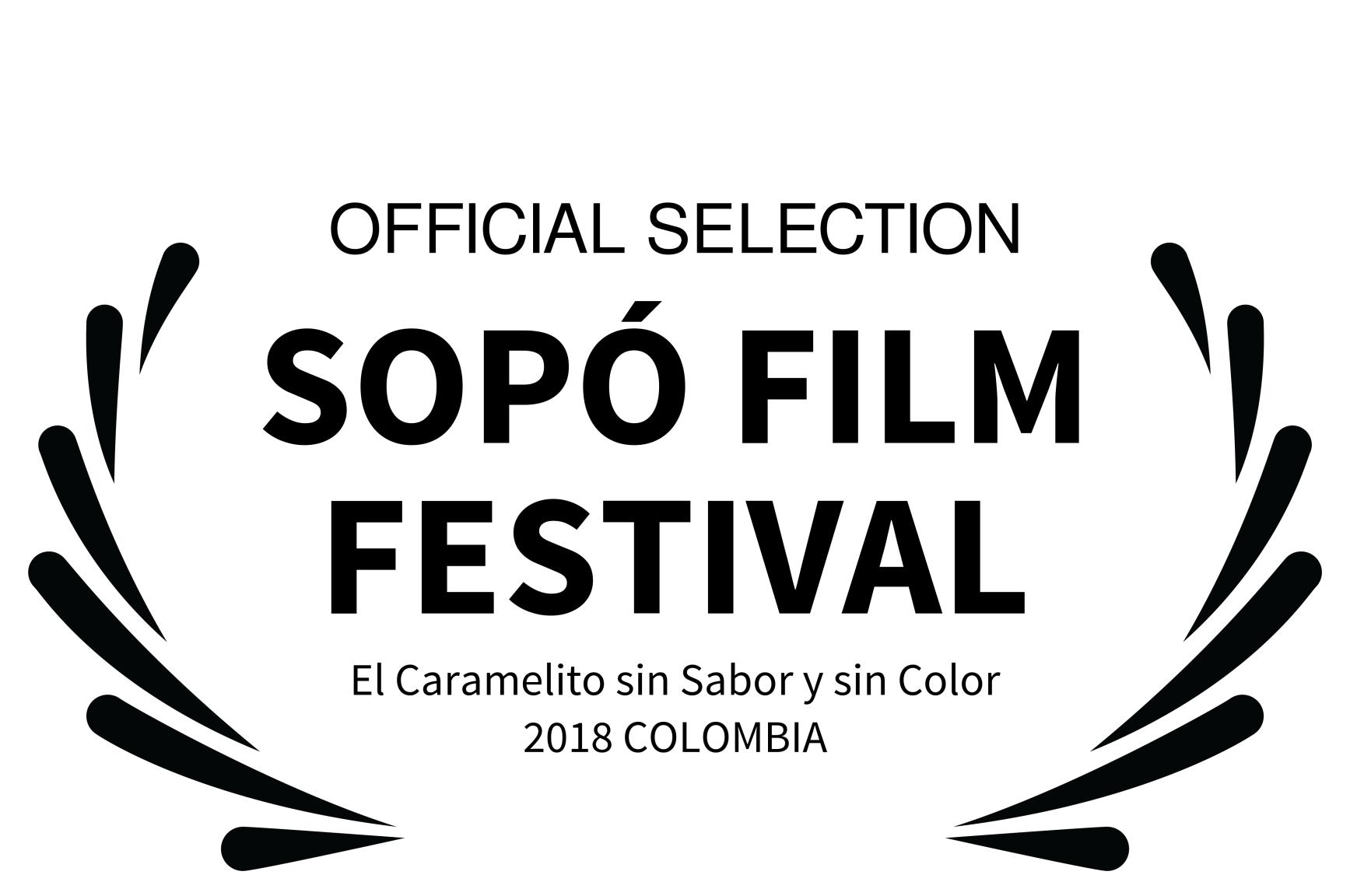 OFFICIAL SELECTION - SOP FILM FESTIVAL -
