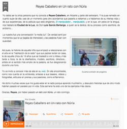 REYESCABALLERO-REPORTAJE-RADIO NURIA