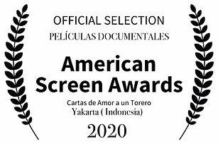 OFFICIAL SELECTION - American Screen Awa