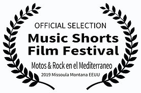 OFFICIAL SELECTION - Music Shorts Film F