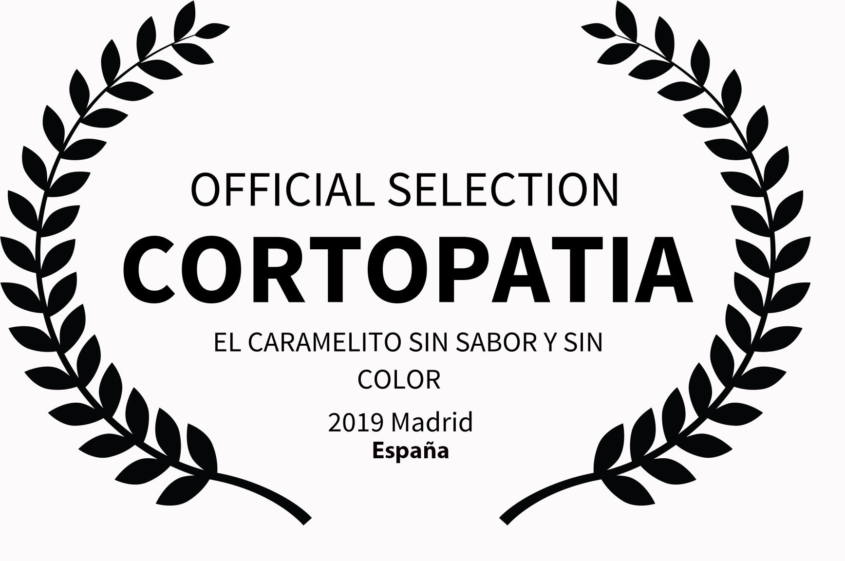 OFFICIAL SELECTION - CORTOPATIA -  EL CA