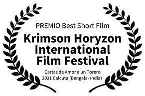 PREMIO Best Short Film - Krimson Horyzon
