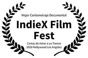 Mejor Cortometraje Documental - IndieX F