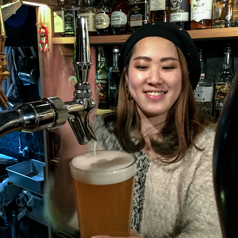 3hrs: All You Can Drink Japanese Craft Beer & food!