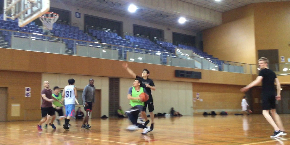Basketball: Suminoue Sports Center (Kitakagaya)