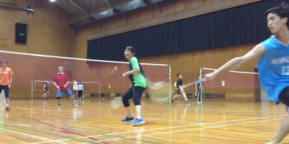 Badminton: Abeno Sports Center