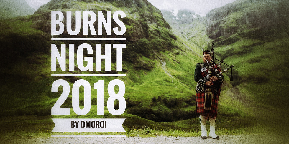 Burns Night 2018! Traditional Scottish Celebration!