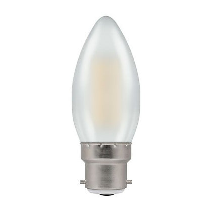 LED Filament Coated Candle Dimmable/Non-Dimmable