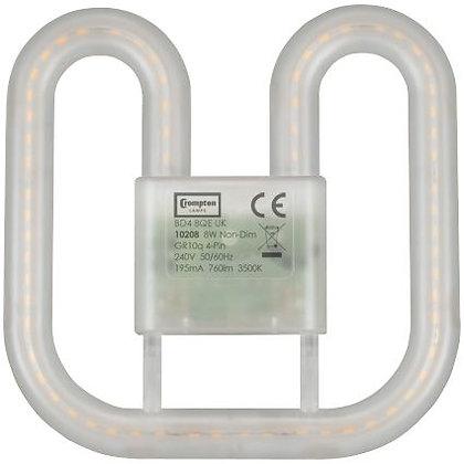 8W LED 2D Retrofit GR8 2-Pin & 4-Pin
