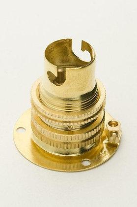 SBC Brass Batten Lampholder