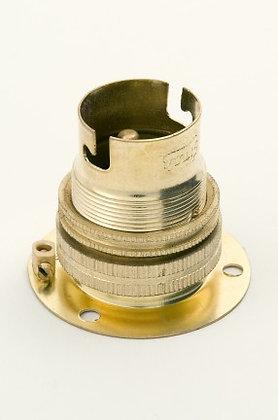 BC Brass Batten Lampholder