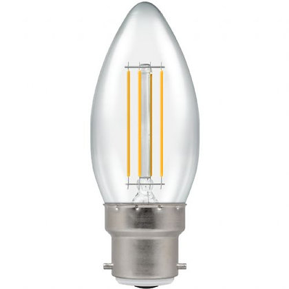 LED Filament Clear Candle Dimmable/Non-Dimmable