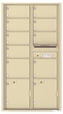 versatile 4C16D-09 4CFL Front-loading Mailbox