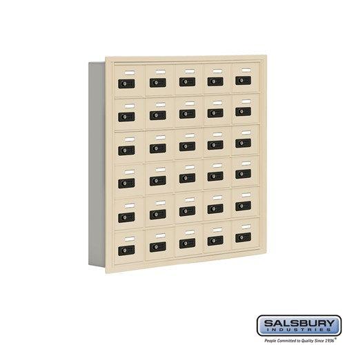 Salsbury Cell Phone Storage Locker - 6 Door High Unit  - 19065-30ARC