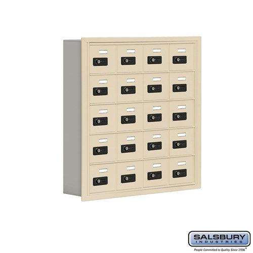 Salsbury Cell Phone Storage Locker - 5 Door High Unit  - 19055-20ARC
