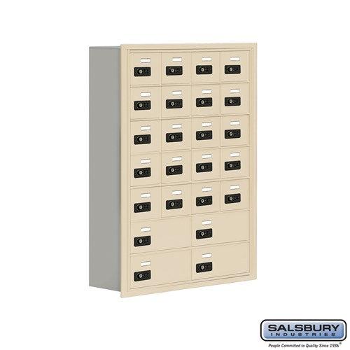 Salsbury Cell Phone Storage Locker - 7 Door High Unit  - 19078-24ARC