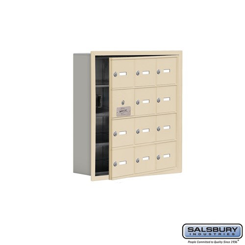 Salsbury Cell Phone Storage Locker - with Front Access - 19145-12ARK
