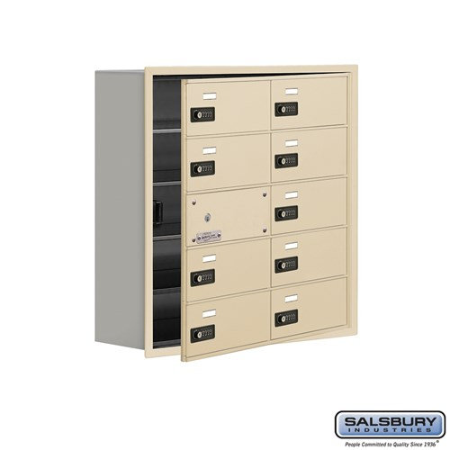 Salsbury Cell Phone Storage Locker - with Front Access - 19158-10ARC