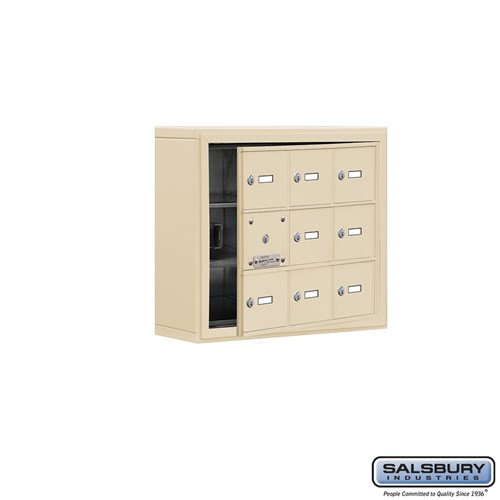 Salsbury Cell Phone Storage Locker - with Front Access - 19135-09ASK