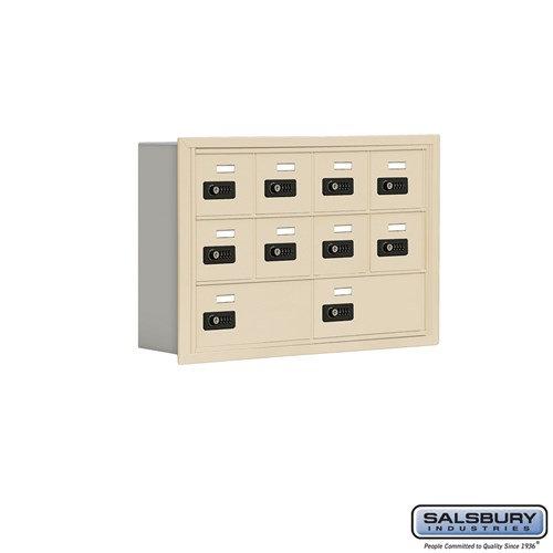 Salsbury Cell Phone Storage Locker - 3 Door High Unit  - 19035-10ARC