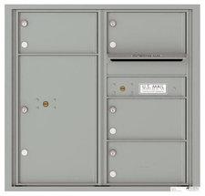 versatile 4C08D-04-SM 4CFL Front-loading Mailbox