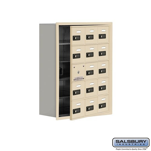 Salsbury Cell Phone Storage Locker - with Front Access - 19158-15ZRC