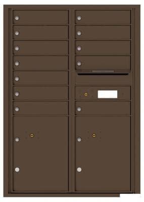 versatile 4C12D-12 4CFL Front-loading Mailbox