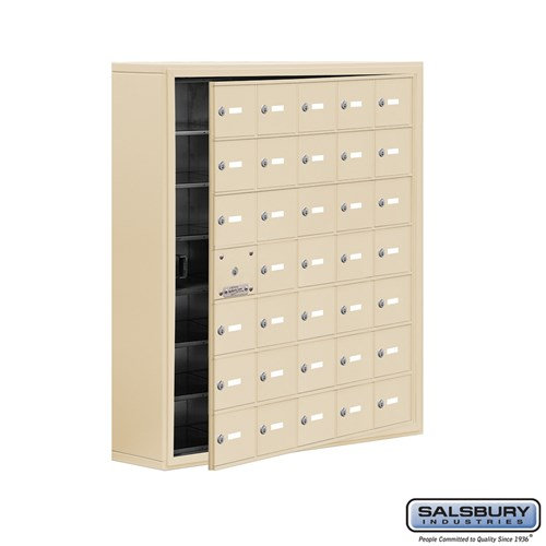 Salsbury Cell Phone Storage Locker - with Front Access - 19178-35ASK