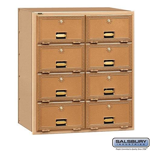 Salsbury Brass Mailbox - 2008RL