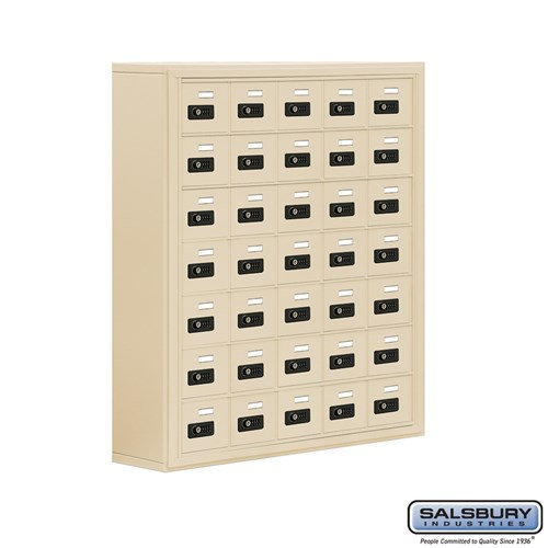 Salsbury Cell Phone Storage Locker - 7 Door High Unit  - 19078-35ASC