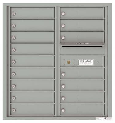 versatile 4C09D-16-SM 4CFL Front-loading Mailbox