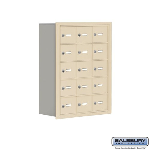 Salsbury Cell Phone Storage Locker - 5 Door High Unit  - 19058-15ARK