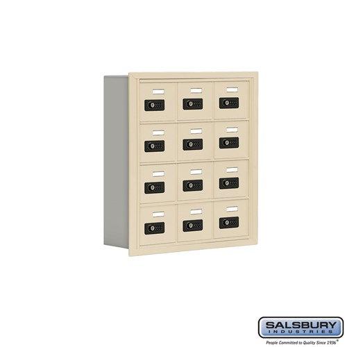 Salsbury Cell Phone Storage Locker - 4 Door High Unit  - 19045-12ARC