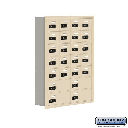 Salsbury Cell Phone Storage Locker - 7 Door High Unit  - 19075-24ARC