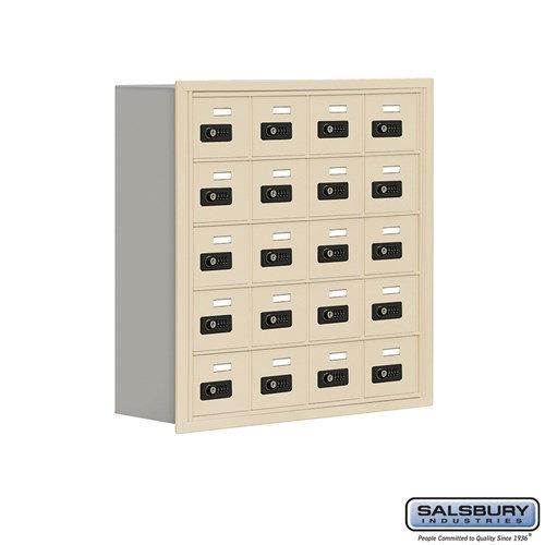 Salsbury Cell Phone Storage Locker - 5 Door High Unit  - 19058-20ARC