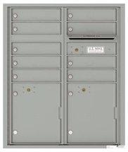 versatile 4CADD-09-SM 4CFL Front-loading Mailbox
