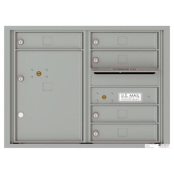 versatile 4C06D-05-SM 4CFL Front-loading Mailbox