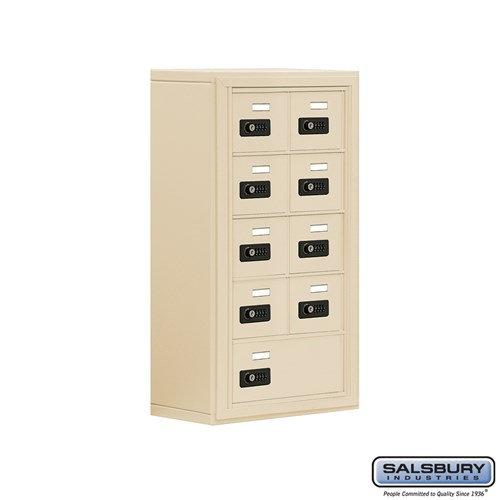 Salsbury Cell Phone Storage Locker - 5 Door High Unit  - 19058-09ASC