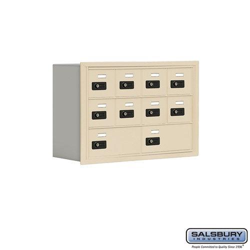 Salsbury Cell Phone Storage Locker - 3 Door High Unit  - 19038-10ARC